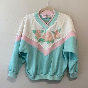 90s Vintage Gitano Rose Sweatshirt